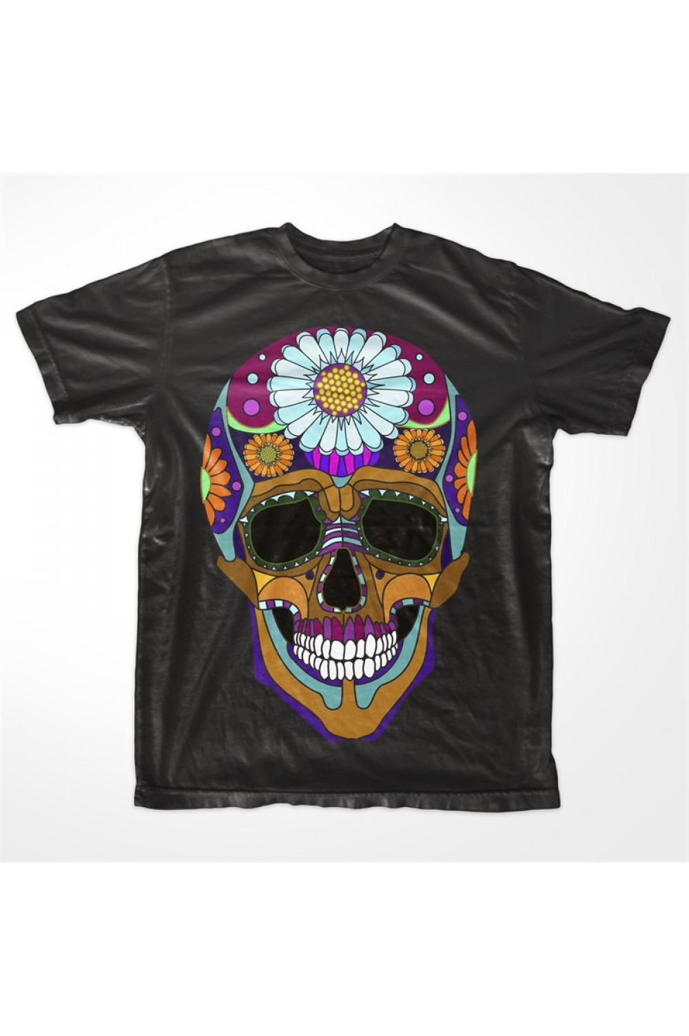 Party Skull Men Printed T shirt 4021